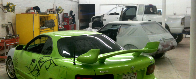 Accident and collision repair, to complete restoration of classic cars, from Expert Collision Center of Newton, IL
