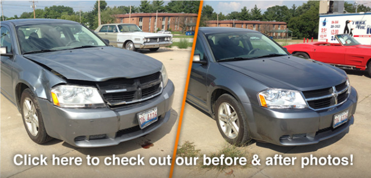 Click here to check out our before & after photos of accident and collision repair, to complete restoration of classic cars, from Expert Collision Center of Newton, IL!