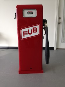 "Gas Pump Restoration - ""Filler Up Buffet"""